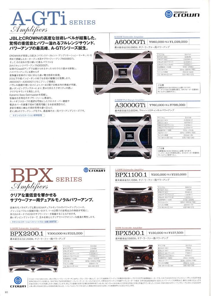A-GTi + BPX Series