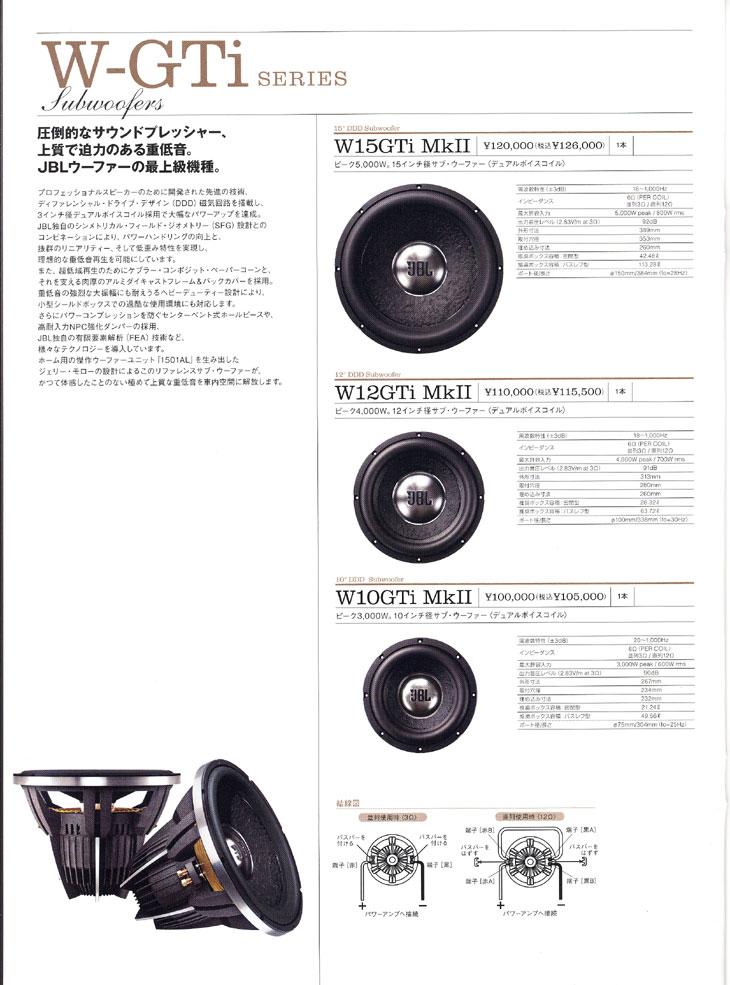 W-GTi Series