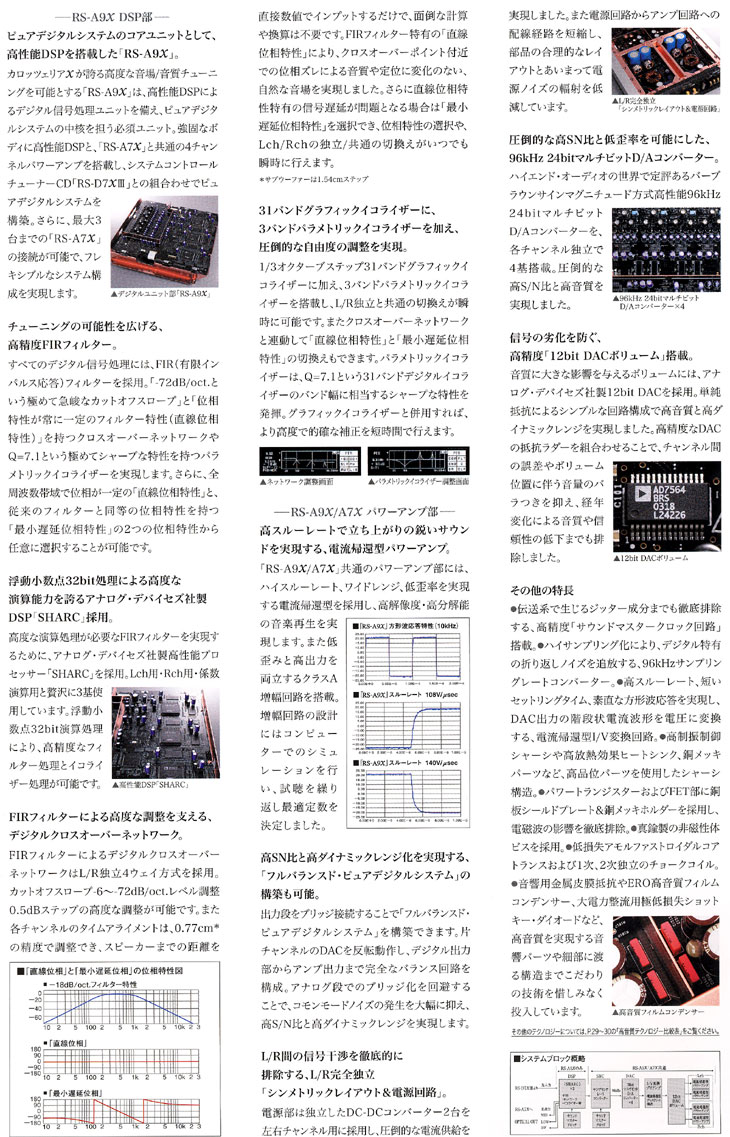 carrozzeriaX RS-A9X RS-A7X
